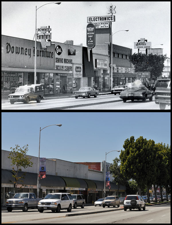 Then And Now Long Beach Seen